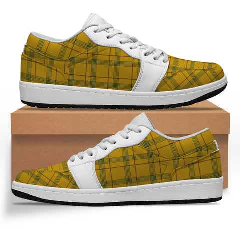 Houston Tartan Low Sneakers (Women's/Men's) A7