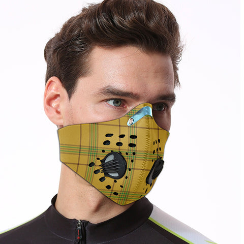 Houston Tartan Dust-proof Sports Masks ( Model 1) - TH88 (USA Shipping Line)