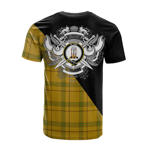 Houston Clan Military Logo T-Shirt K23