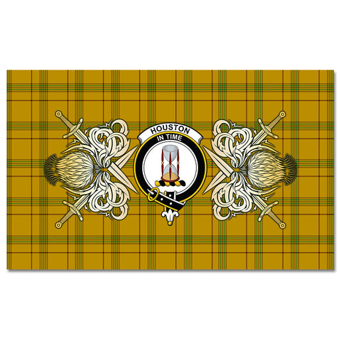 Tablecloth Houston Clan Crest Courage Symbol Special Version