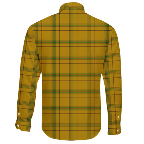 Houston Tartan Clan Long Sleeve Button Shirt A91