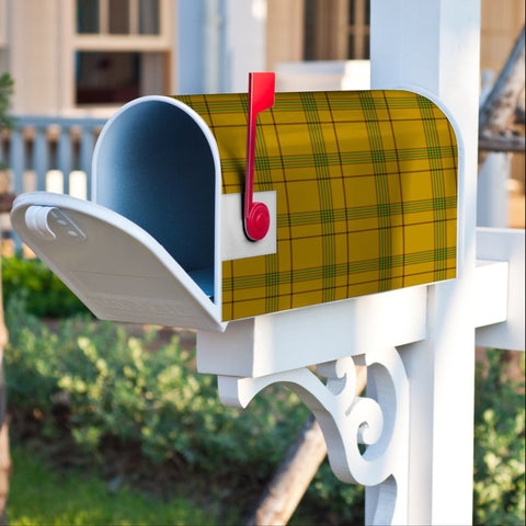 ScottishClan Houston Tartan Crest Scotland Mailbox A91