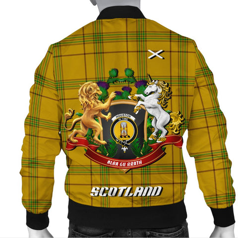 Houston | Tartan Bomber Jacket | Scottish Jacket | Scotland Clothing
