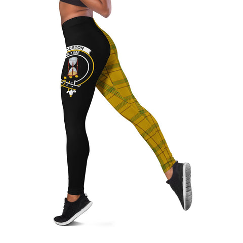 Houston Crest Tartan Leggings | Over 500 Tartans | Special Custom Design