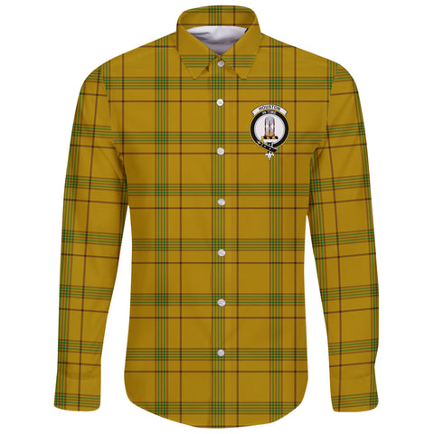 Houston Tartan Clan Long Sleeve Button Shirt | Scottish Clan