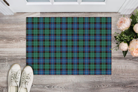 Hunter Ancient Tartan Carpets Front Door A91
