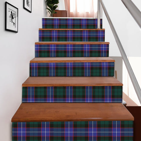 Scottishshop Tartan Stair Stickers - Hunter Modern Stair Stickers A91