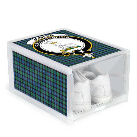 Hunter Ancient Clan Crest Tartan Scottish Shoe Organizers