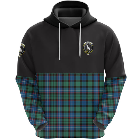 Hunter Ancient Clan Hoodie Half Of Tartan
