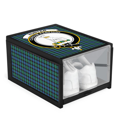 Hunter Ancient Clan Crest Tartan Scottish Shoe Organizers K9