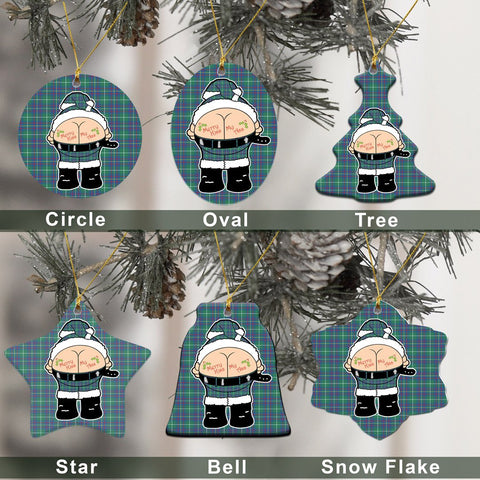 Inglis Ancient Tartan Christmas Decor - Ross Ceramic Ornament - Funny Style A7