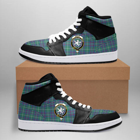 Inglis Ancient Clan Crest Tartan Jordan Sneaker (Women's/Men's) A7