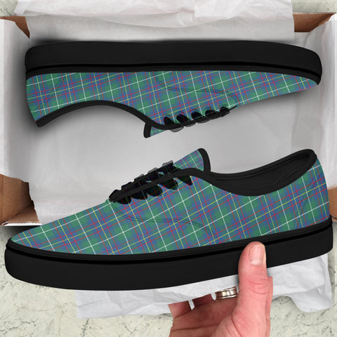Inglis Ancient Tartan Like Vans Lace Shoes (Women's/Men's) A7