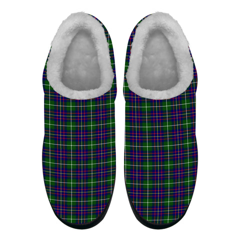 Inglis Modern Tartan Fleece Slipper (Women's/Men's) A7