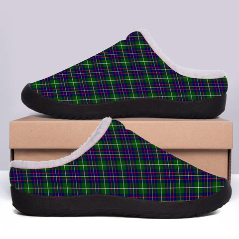 Image of Inglis Modern Tartan Fleece Slipper (Women's/Men's) A7