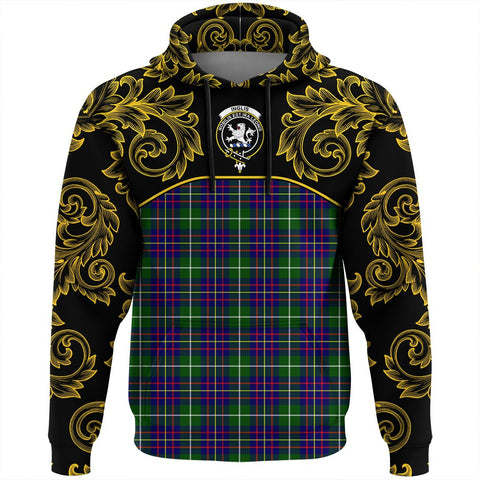 Image of Inglis Modern Tartan Clan Crest Hoodie - Empire I - HJT4 - Scottish Clans Store - Tartan Clans Clothing - Scottish Tartan Shopping - Clans Crest - Shopping In scottishclans - Hoodie - Pullover For You