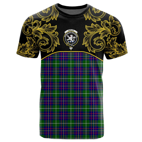 Image of Inglis Modern Tartan Clan Crest T-Shirt - Empire I - HJT4 - Scottish Clans Store - Tartan Clans Clothing - Scottish Tartan Shopping - Clans Crest - Shopping In scottishclans - T-Shirt - Tee For You