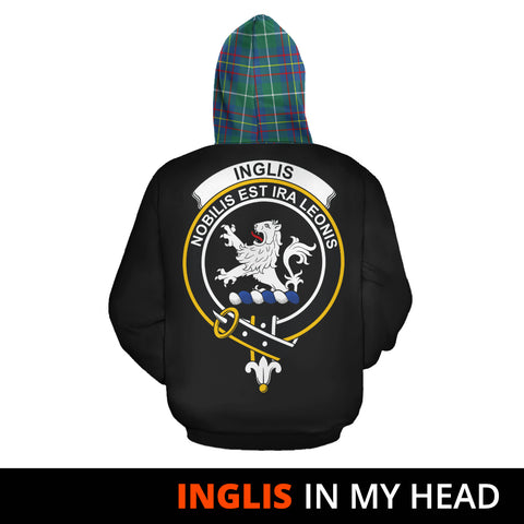 Inglis Ancient In My Head Hoodie Tartan Scotland K9