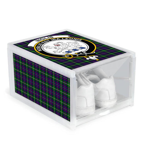 Inglis Modern Clan Crest Tartan Scottish Shoe Organizers