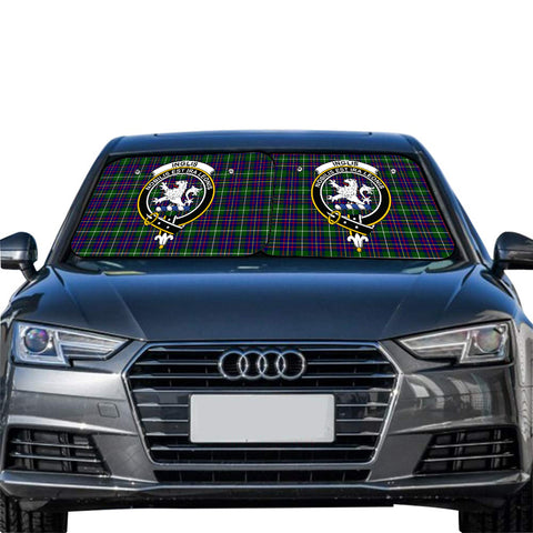 Image of Inglis Modern Clan Crest Tartan Scotland Car Sun Shade 2pcs