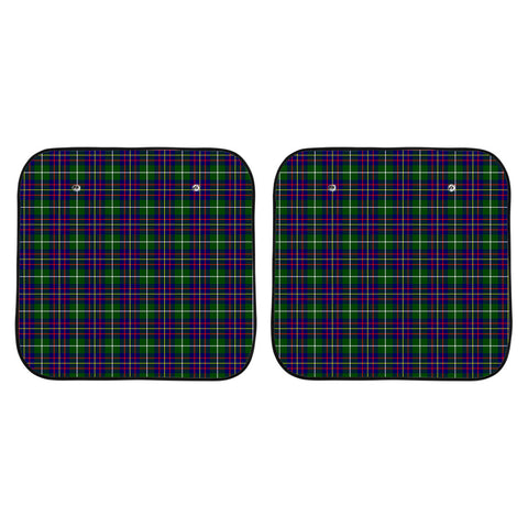 Image of Inglis Modern Clan Tartan Scotland Car Sun Shade 2pcs K7