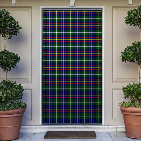Image of Inglis Modern Tartan Door Sock Cover