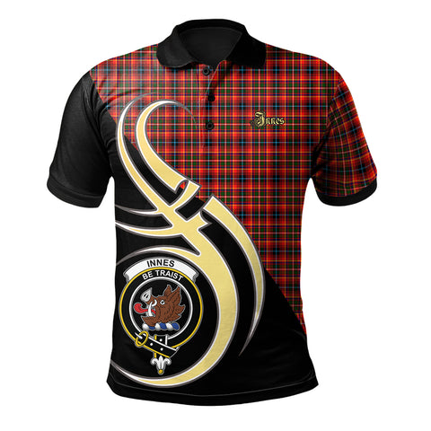 Image of Innes Modern Clan Believe In Me Polo Shirt