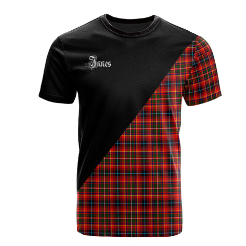 Image of Innes Modern Clan Military Logo T-Shirt