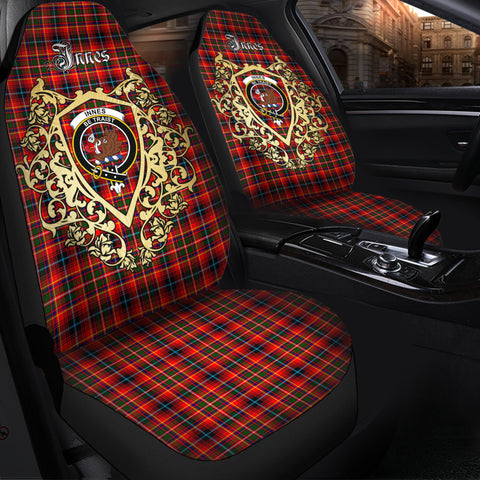 Image of Innes Modern Clan Car Seat Cover Royal Sheild