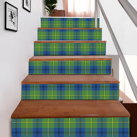 Scottishshop Tartan Stair Stickers - Johnston Ancient Stair Stickers A91