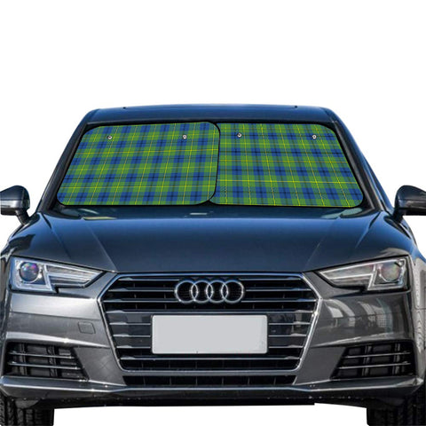 Johnston Ancient Clan Tartan Scotland Car Sun Shade 2pcs