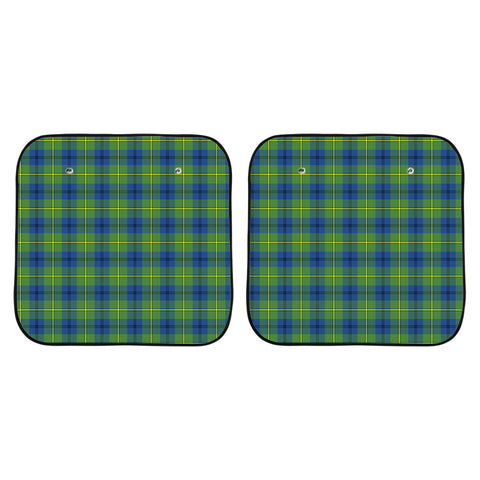 Johnston Ancient Clan Tartan Scotland Car Sun Shade 2pcs K7