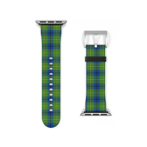 Johnston Ancient Scottish Clan Tartan Watch Band Apple Watch