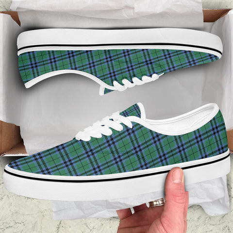 Image of Keith Ancient Tartan Like Vans Lace Shoes (Women's/Men's) A7