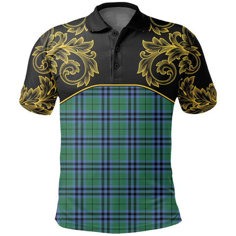 Keith Ancient Tartan Clan Crest Polo Shirt - Empire I - HJT4 - Scottish Clans Store - Tartan Clans Clothing - Scottish Tartan Shopping - Clans Crest - Shopping In scottishclans - Polo Shirt For You