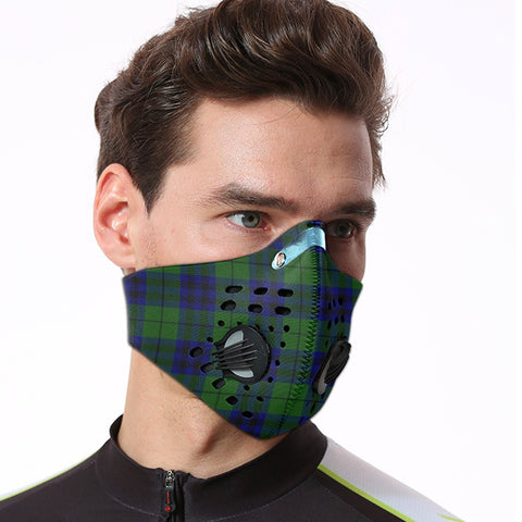 Keith Modern Tartan Dust-proof Sports Masks ( Model 1) - TH88 (USA Shipping Line)
