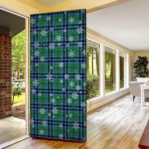 Image of Keith Ancient Christmas Tartan Door Sock Cover