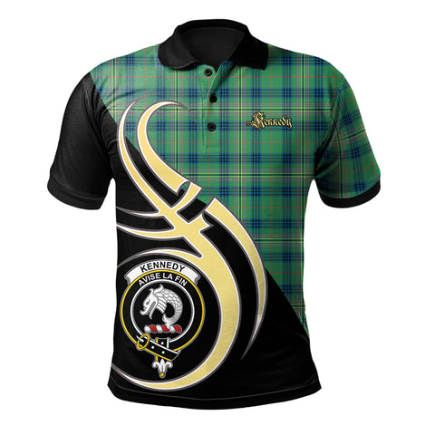 Kennedy Ancient Clan Believe In Me Polo Shirt