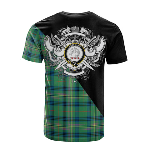 Kennedy Ancient Clan Military Logo T-Shirt K23