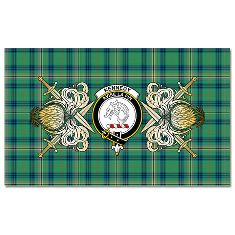 Tablecloth Kennedy Ancient Clan Crest Courage Symbol Special Version
