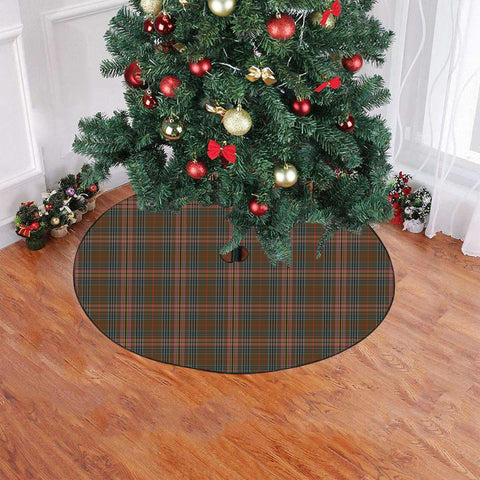 Kennedy Weathered Tartan Tree Skirt Christmas