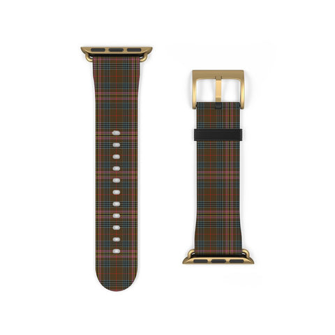 Image of Kennedy Weathered Scottish Clan Tartan Watch Band Apple Watch