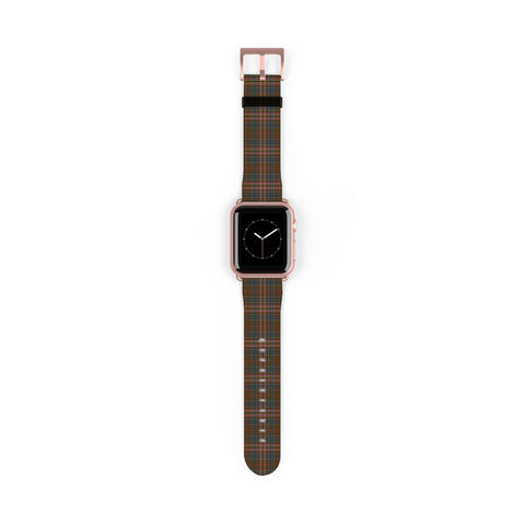 Kennedy Weathered Scottish Clan Tartan Watch Band Apple Watch