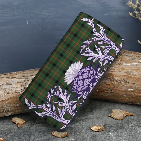 Kincaid Modern Tartan Wallet Women's Leather Thistle A91