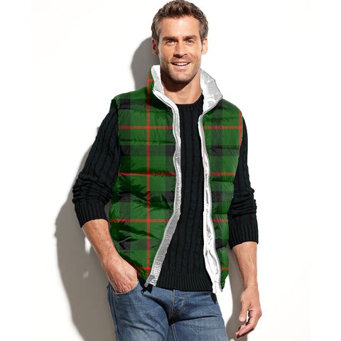 Image of Kincaid Modern Tartan Puffer Vest for Men and Women K7
