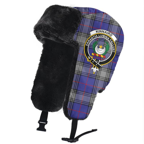 Image of Kinnaird Clan Crest Tartan Trapper Hat