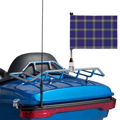 Kinnaird Clan Tartan Motorcycle Flag