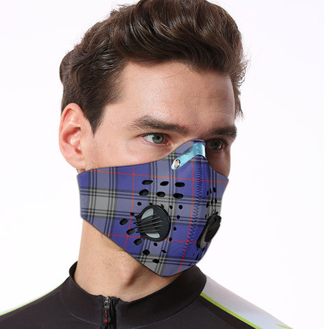 Kinnaird Tartan Dust-proof Sports Masks ( Model 1) - TH88 (USA Shipping Line)