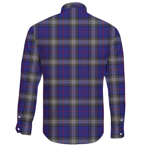 Kinnaird Tartan Clan Long Sleeve Button Shirt A91