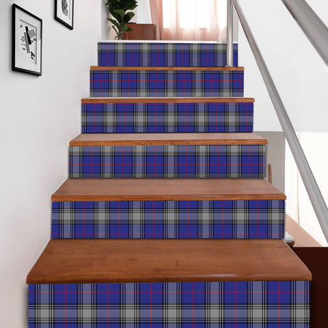 Scottishshop Tartan Stair Stickers - Kinnaird Stair Stickers A91